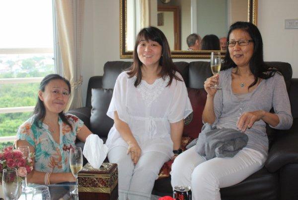Quel plaisir de retrouver aussi mes amies Japonaises !