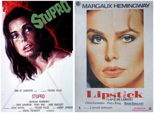 Les affiches Lipstick