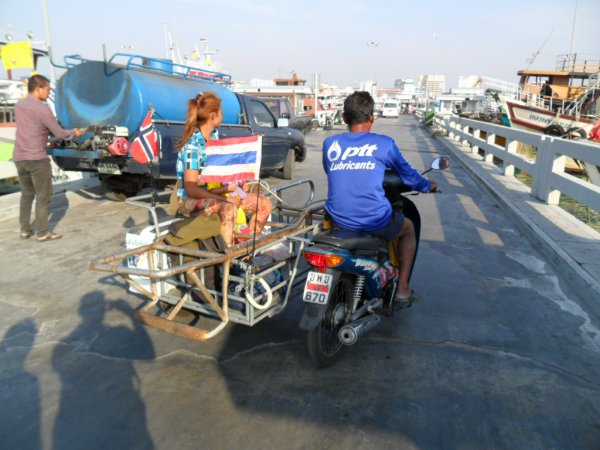 Retour vers Pattaya