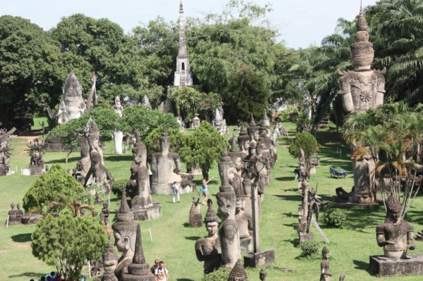 Le parc de bouddha