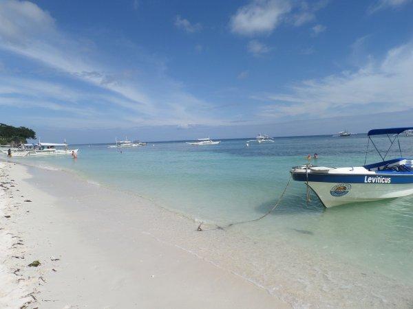 La plage de Panglao