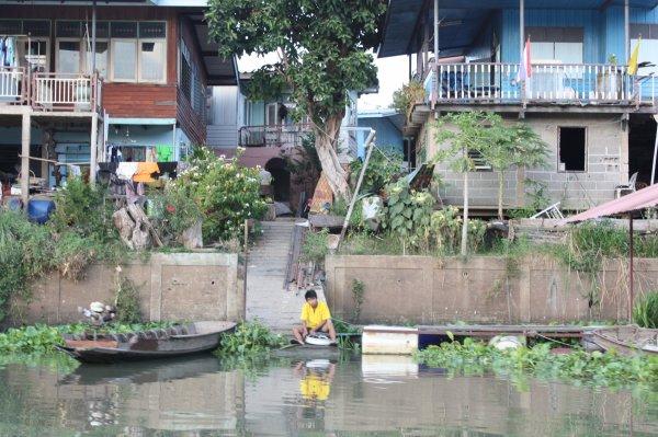 Ayutthaya c'est aussi une balade sur les canaux du fleuve Chao Phraya