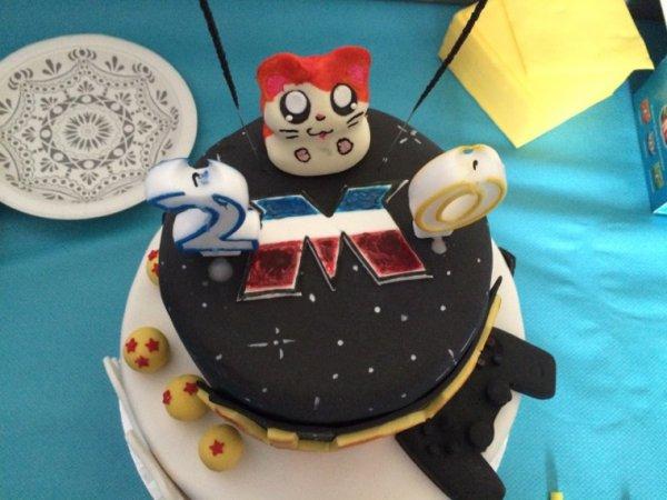 Mon gâteau ! Magnifique , les parents ont géré !
