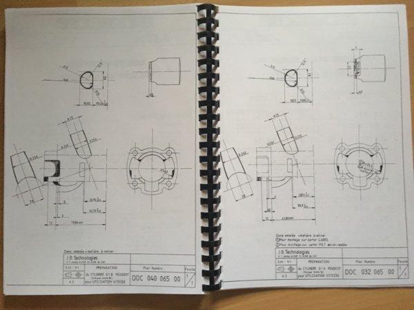 Préparation cylindre Bidalot G1B et G1A