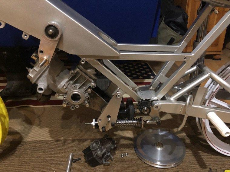 Montage à blanc du moteur g3