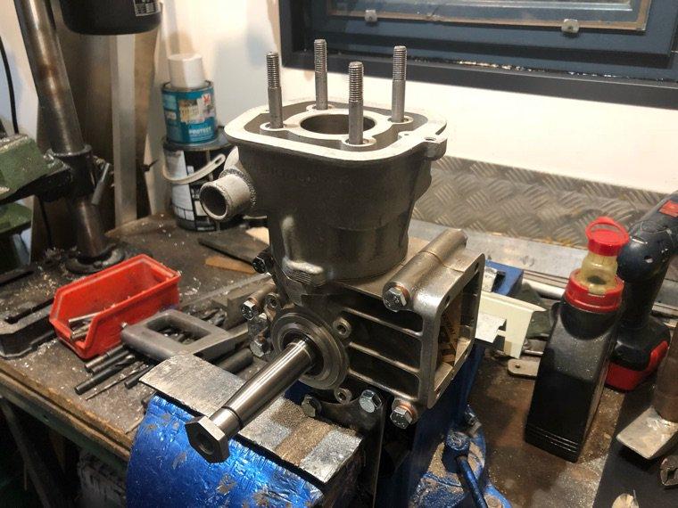 Montage moteur G3