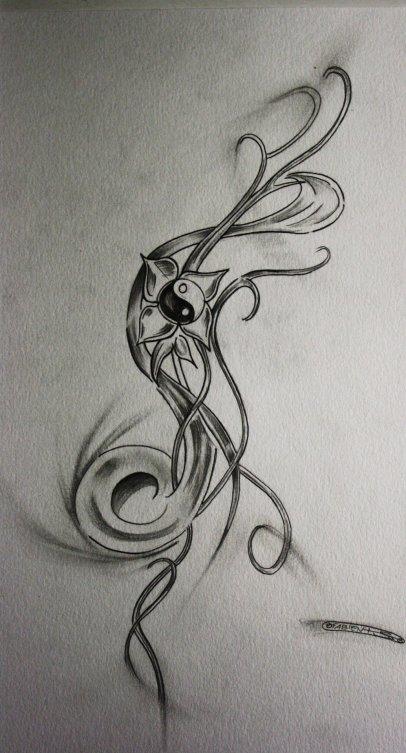 projet yin yang pour perfect tattoo