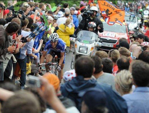 Cyclisme : Tour de France 2010 (2e étape)