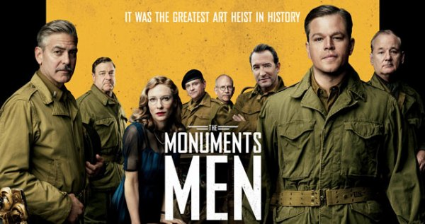Critique de film : Monuments Men