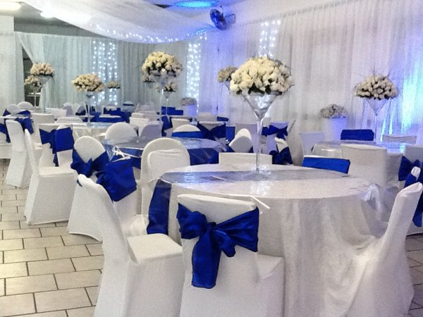 stunning dcoration bleu with dcoration salle de mariage bleu et blanc with  dcoration salle de mariage bleu et blanc