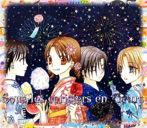 ♦ Fiche 2 : Sous les cerisiers en fleurs
