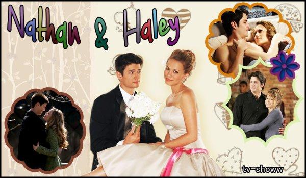 Nathan et Haley - Les frères Scott