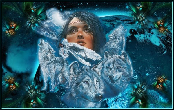 magic wolves