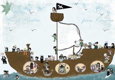 Les légendes pirates