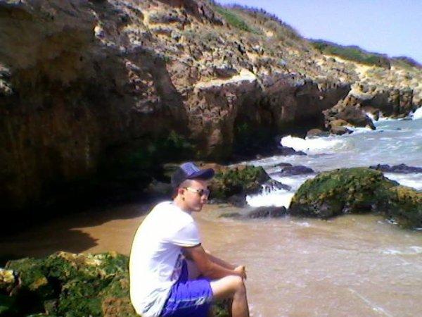 ci  moi  dans la plage