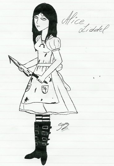 Alice Madness Returns [ANCIENS DESSINS]