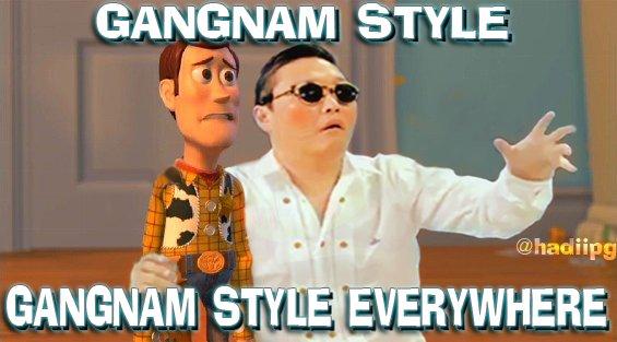 Gangnam Style Attitude !