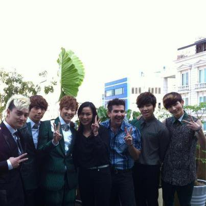 UKISS Korea FB update