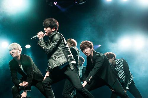 U-Kiss Show Case in Indonesia
