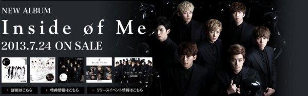 U-KISS - Inside Of Me 2nd Album