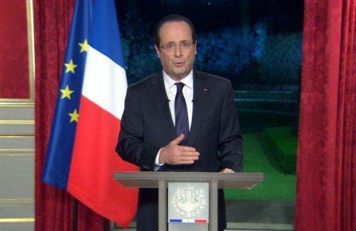 Voeux 2013 pour Hollande
