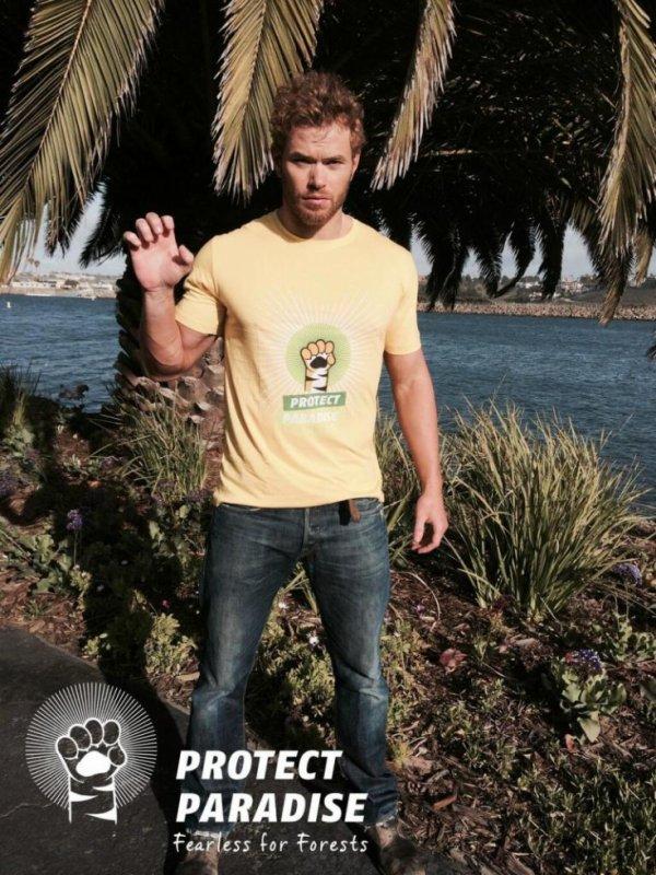 Kellan Lutz soutient la nouvelle campagne de Greenpeace # TigerRoar