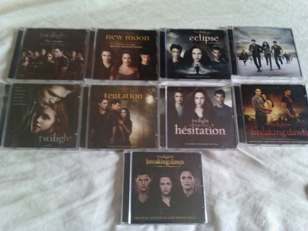 Collection twilight a vendre !
