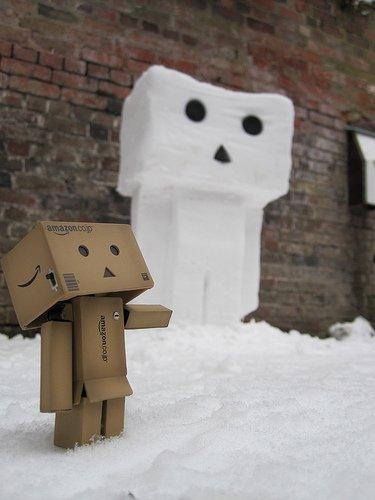 Danbo-de-neige
