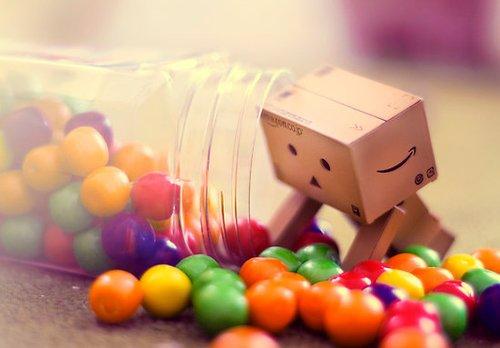 Danbo & les bonbons