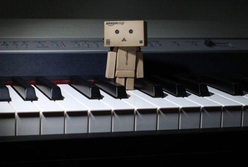 Danbo au piano