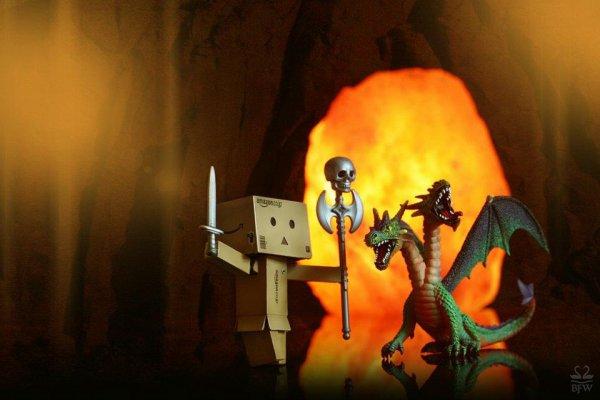 Danbo contre le dragon