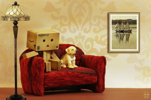Danbo et son chien