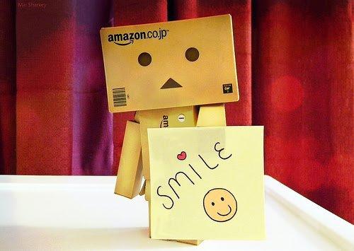 Danbo vous dit SMILE