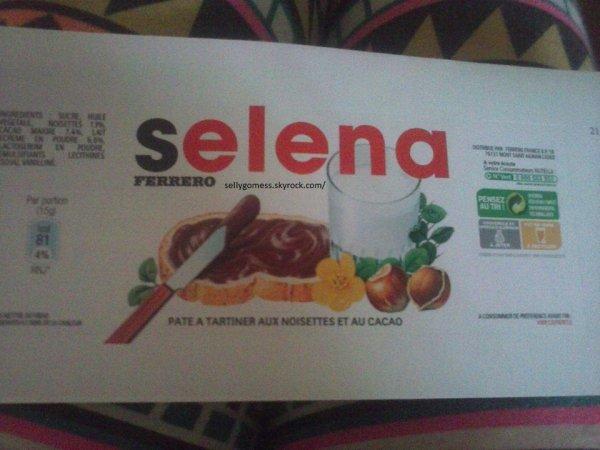 Selena/Nutella .
