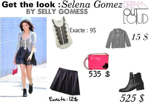 Dress like de Selena Gomez !