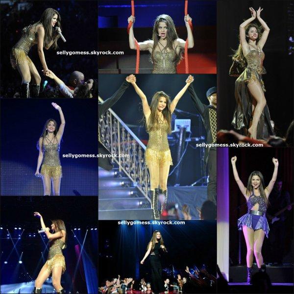 Le 14/08/13 Lors du Stars Dance Tour à Vancouver ( Canada ) 1er concert