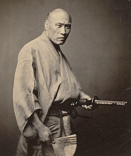Petite pensée Watosay :) ~ Samuraï, 1866