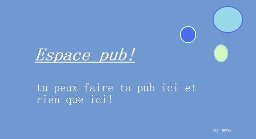 espace pub!