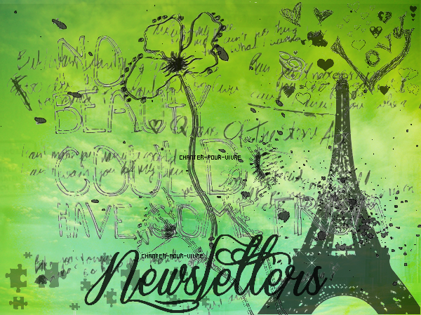 ♥ Newsletters ♥