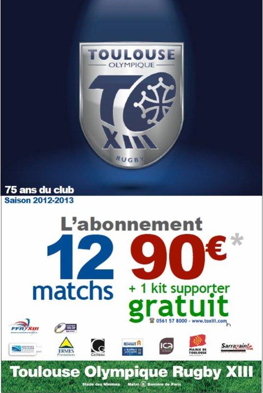 Campagne d'abonnement 2012-2013
