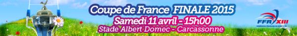 ½ Finale de Coupe de France Lord Derby : SO Avignon XIII vs St Estève - XIII Catalan