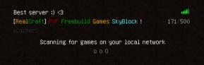 Serveur Minecraft !