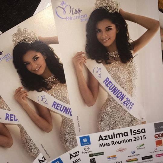 Cartons de dédicace - Miss Réunion 2015