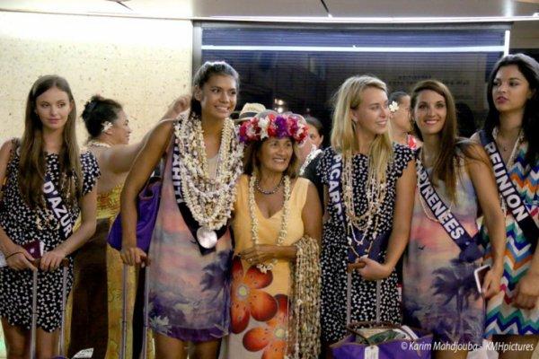 Azuima - départ de Tahiti