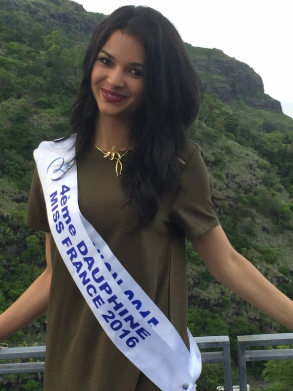 Miss Réunion savoure son retour dans notre île