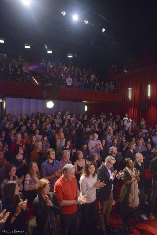 stand up ovation pour le film Freemen aux festival des droits humains de geneve