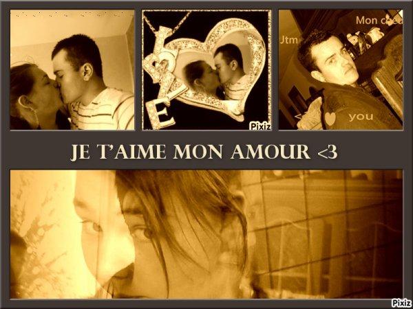 je t'aime mon amour !!!