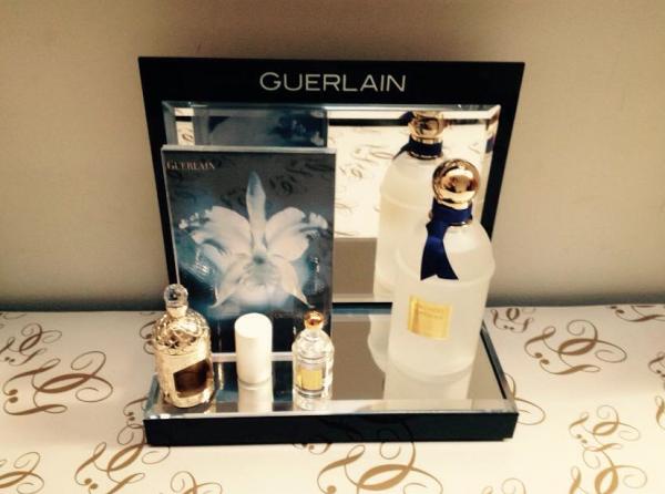 """PARFUM D'INTERIEUR """" Orchidée Imperiale ET sa miniature """""""