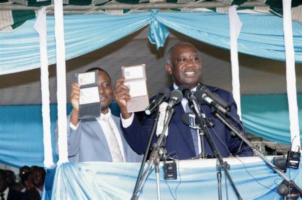 Moi et Gbagbo fêtions à Bouaké les cartes d`identité