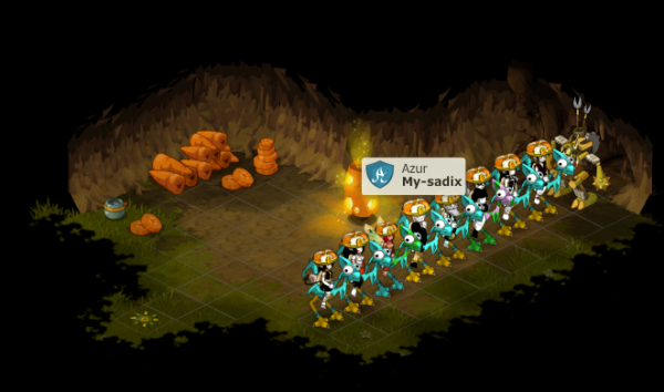 Cawotte / Reprendre team azur